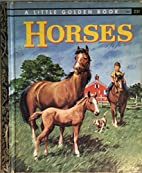 Horses ~ A little Golden Book by Blance…