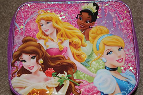 Disney Princess Rectangle Lunch Kit - 1