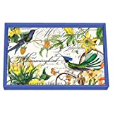 Michel Design Works Wooden Decoupage Vanity Tray, 12.25 x 7.5-Inch, Hummingbird