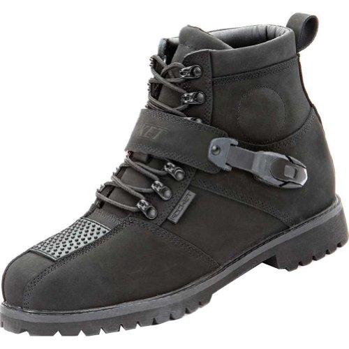 Joe Rocket Big Bang 2.0 Men's Leather Street Motorcycle Boots - Black / Size 14 (Street Motor Cycle Boots compare prices)
