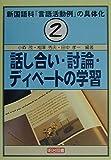 新国語科「言語活動例」の具体化〈2〉話し合い・討論・ディベートの学習
