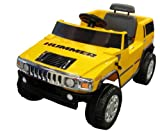 discount National Products 6V Yellow Hummer H2 Battery Operated Ride-on