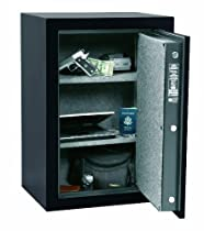 Cannon Safe H8 Home Guard 75 Minute Fire Safe, Hammer-Tone Black