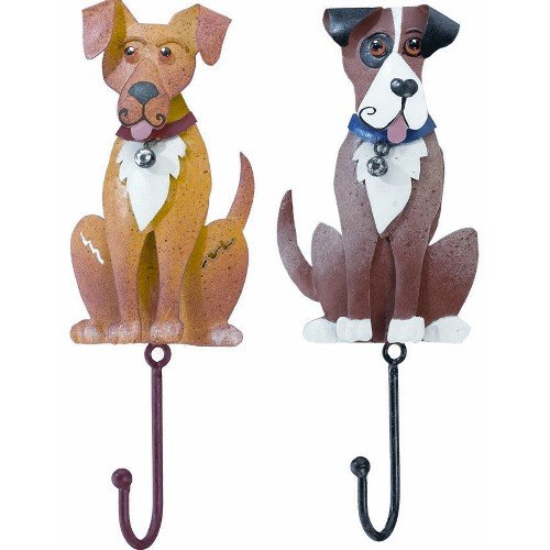 Hanging Hooks Singles Dog 2-Pack - Regal Art and Gift #R394-2