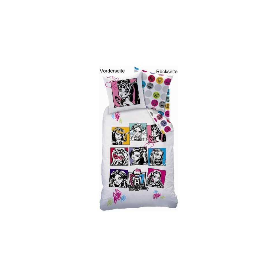 Monster High Bettwäsche 135 X 200 Cm Baby On Popscreen