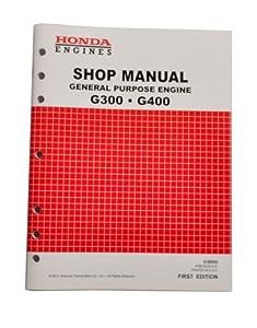 Honda G300 G400 Engine Service Repair Shop Manual