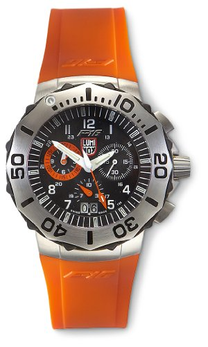 Luminox F – 16 Navy SEAL Chronograph Watch Black / Orange