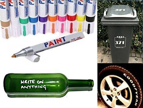 permanente-universal-aceite-pintura-rotulador-para-cristal-metal-neumaticos-de-caucho-papelera-numer