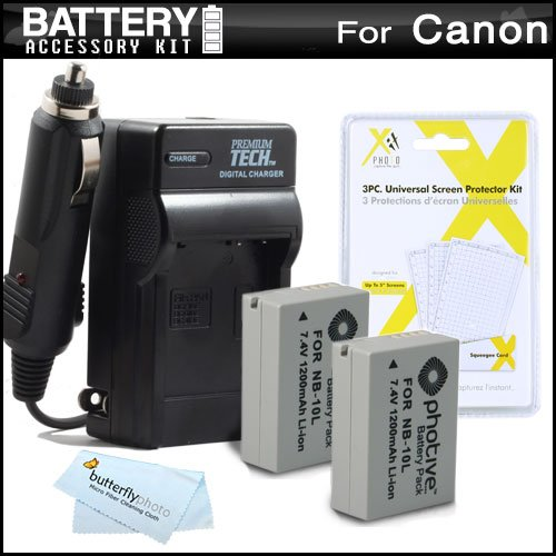And Charger Kit For Canon PowerShot SX40 HS SX40HS, SX50 HS, SX50HS