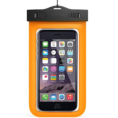 Waterproof Case, NewYouDirect phone dry bag for iPhone 6/6S/6Plus/Samsung 6'' Mint Green (orange) Add-on Item Only