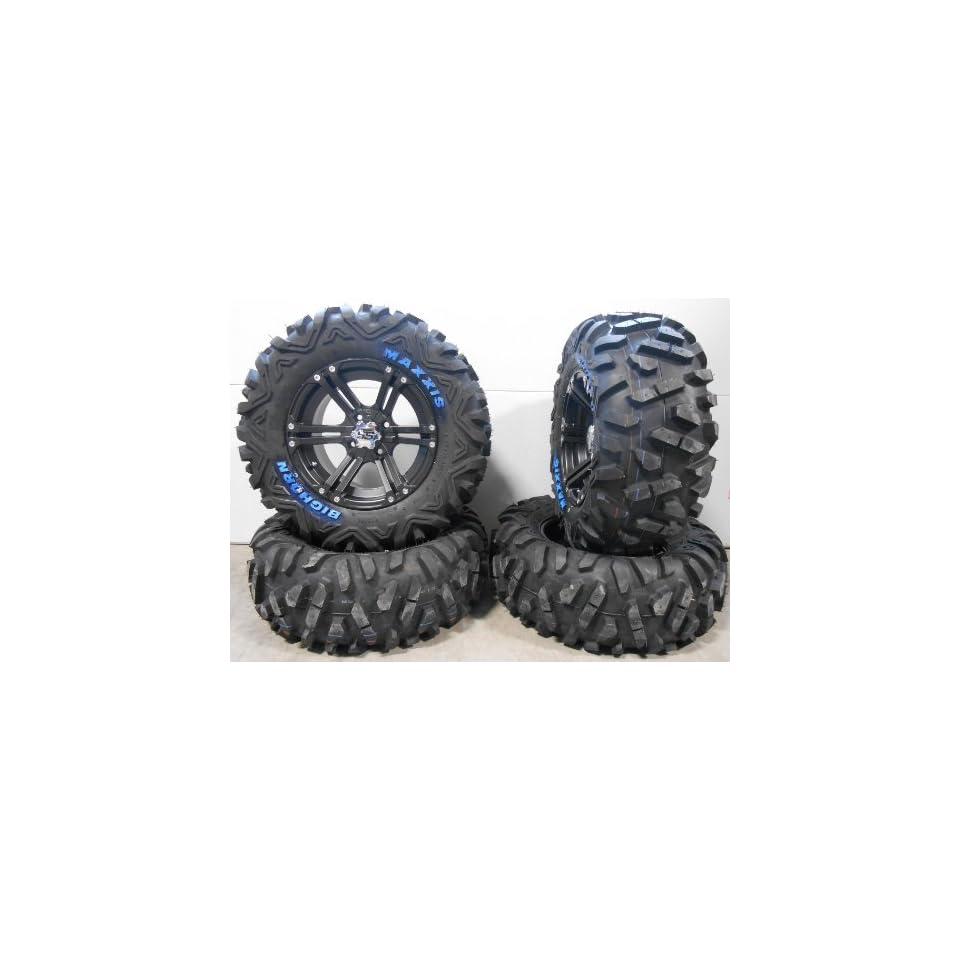 """ITP SS212 14"""" Wheels Black 28"""" BigHorn Tires Polaris RZR 1000 XP / Ranger 900 XP Automotive"""