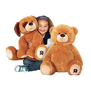 "Riley Bear 19"" Brown Plush"