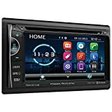 Power Acoustik PDN-621HB Double DIN DVD/CD/AM/FM/MP3/MP4 Bluetooth Navigation Receiver with 6.2