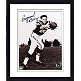 Framed Raymond Berry Baltimore Colts Autographed 8'' x 10'' Reaching for Ball Photograph -... by