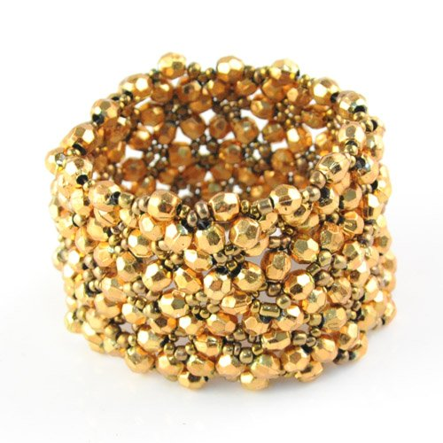 Christmas Gifts for 2012 Acrylic Beads Ball Bangle Bracelet Handmade Jewelry Stretchable Size , 10-18 Days Delivery, Br-1190a