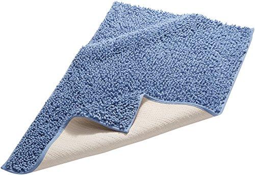 pinzon-by-amazon-tappetino-da-bagno-in-cotone-lussuoso-con-lavorazione-a-riccio-blu-53-x-86-cm