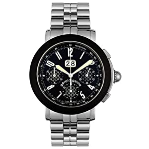 Gerald Genta Men's CHS-X-10-122-B1BDRUB Arena Sport Automatic Chronograph Watch by Geed Up Records