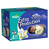 Pampers Extra Protection Diapers Size 4 Super Pack 74 Count