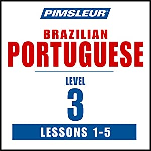 Pimsleur Portuguese (Brazilian) Level 3 Lessons 1-5 Speech
