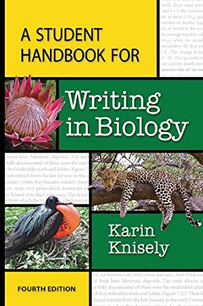 Image: Cover of A Student Handbook for Writing in Biology by Karin Knisely