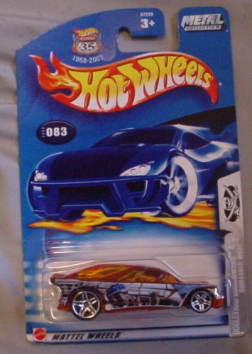 Hot Wheels 2003 083 Boulevard Buccaneers 4/5 NOMADDER WHAT Orange - 1