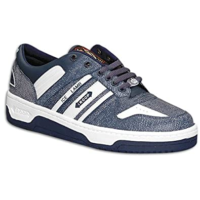 Amazon.com: Troop Men's Ice Lamb Low ( sz. 07.0, Blue/White ): Shoes