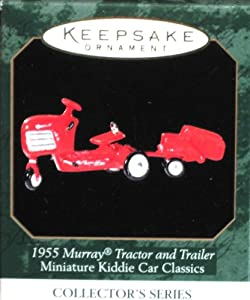 1955 MURRAY TRACTOR AND TRAILER - 1999 HALLMARK ORNAMENT