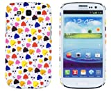Birthday Cupcakes Embossed Slim Fit Hard Case for Samsung Galaxy S3 (AT&amp;T, T-Mobile, Sprint, Verizon, US Cellular, International) [Retail Packaging by DandyCase with FREE Keychain LCD Screen Cleaner]