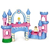Mega Bloks Disney Princess Cinderella Musical Buildable Castle (26pcs)