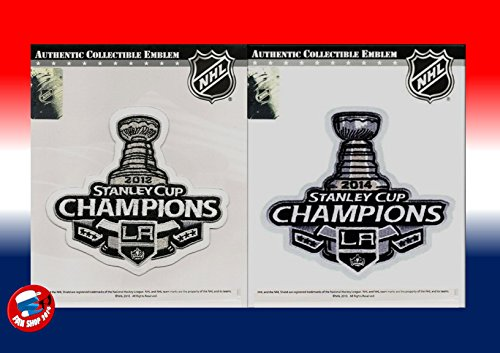 2012 & 2014 Stanley Cup Champions Patch Los Angeles Kings Jersey Patch (2014 Stanley Cup Champions Patch compare prices)