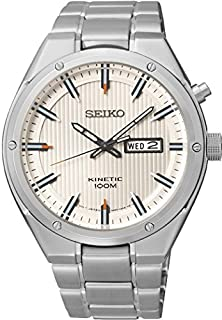 buy Seiko Men'S Watch Kinetic Chronograph Quartz Smy147P1