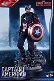 ムービー・マスターピース シビル・ウォー/キャプテン・アメリカ キャプテン・アメリカ 1/6スケール ディズニーVer プラスチック製 塗装済み可動フィギュア