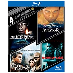 4 Film Favorites: Leonardo Dicaprio [Blu-ray]