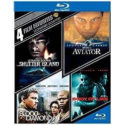 4 Film Favorites: Leonardo Dicaprio [Blu-ray]