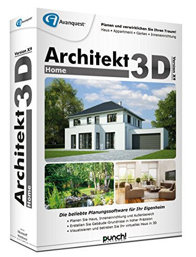 architekt 3d x9 home. Black Bedroom Furniture Sets. Home Design Ideas