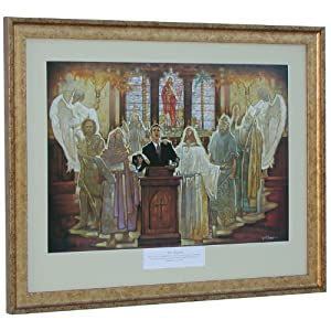 Inspirational Christian  on Amazon Com   The Legacy  Framed Christian Art Prayer Inspirational Ron