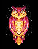 INTO THE AM Polygon Owl Rave Tank Top (Large)