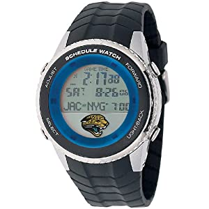 NFL Mens NFL-SW-JAC Schedule Series Jacksonville Jaguars Watch by Game Time