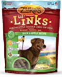 Zuke's Lil' Links Healthy Little Sausage Links for Dogs, Duck & Apple Recipe, 6-Ounce