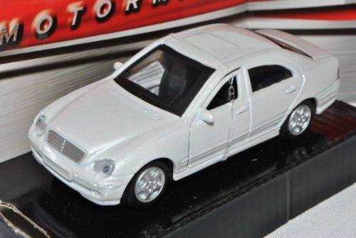 Mercedes-Benz C-Klasse W203 Limousine Weiss 2000-2007 1/43 Motormax Modell Auto
