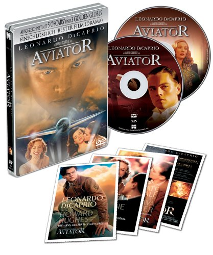 The Aviator (Limited Edition, Exklusiv bei Amazon im Steelbook inkl. Postkarten, 2 DVDs)