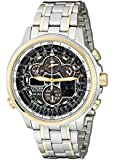 "Citizen Men's JY8034-58E ""Navihawk"" Stainless Steel Two-Tone Eco-Drive Watch"