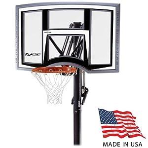 Amazon.com : Reebok RBK 51781 In-Ground Basketball Hoop ...