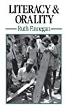 img - for Literacy and Orality book / textbook / text book