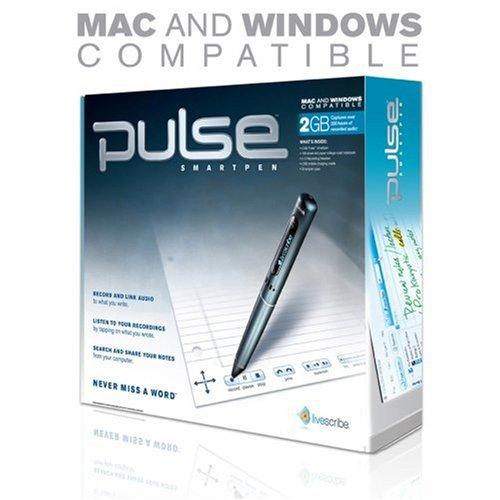 Bút ghi âm Livescribe 2GB Pulse Smartpen (APA-00002). Mua hàng Mỹ tại e24h. vn