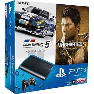 PlayStation 3 Konsole slim + 2 Games