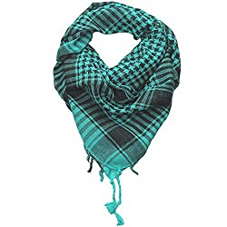 Craftshub Turquoise Desert Arafat Scarf - Stylish Arafat desert scarf for both men and women