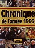 echange, troc Jacques Legrand - Chronique de l'année 1993