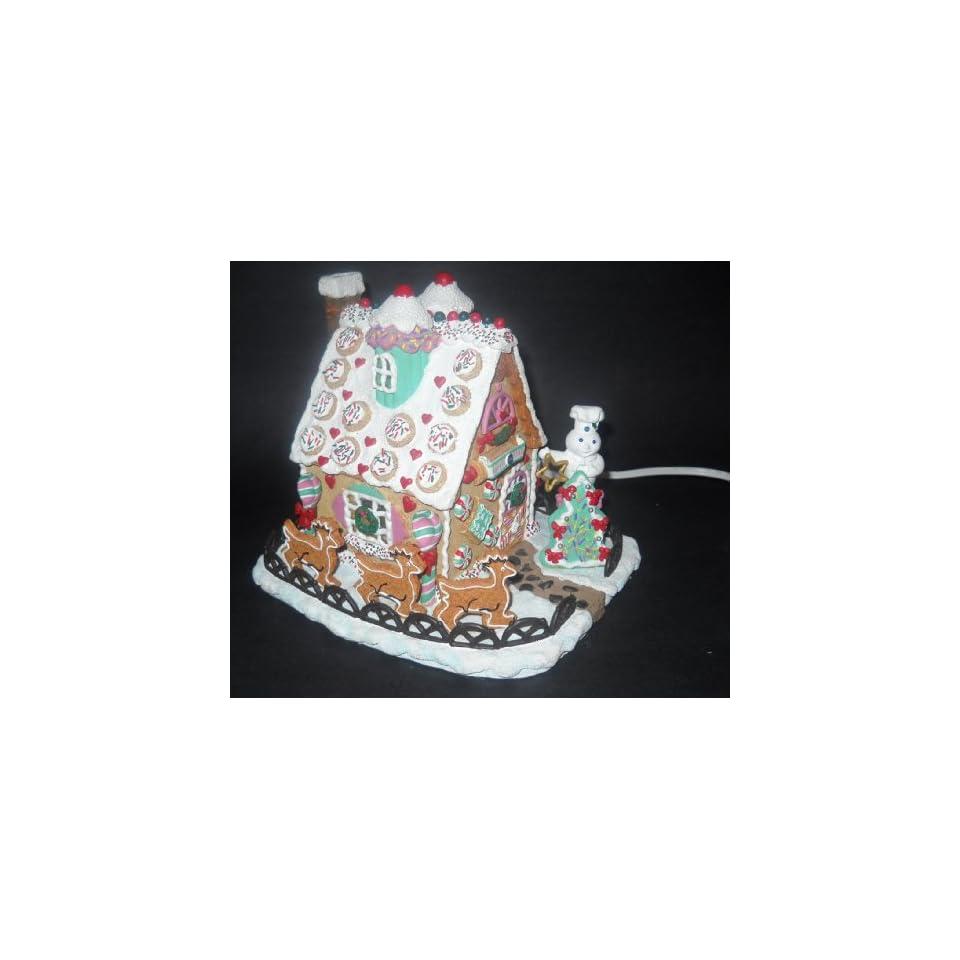 Pillsbury Doughboy Christmas Cookie Cottage Danbury Mint On Popscreen