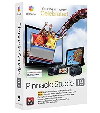 Pinnacle Studio 18 Standard - Software De Edición De Video